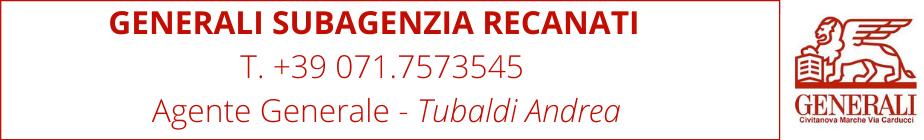 Banner Generali Agenzia Recanati